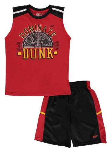 """Dominate Dunk"" 2 Piece Short Set"