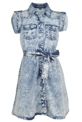 Blue Jean Dress (Size 10/12)
