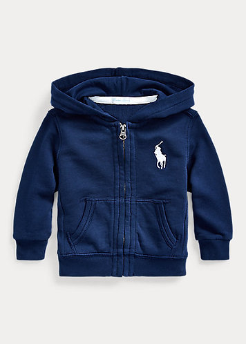Baby Boy Big Pony French Terry Hoodie