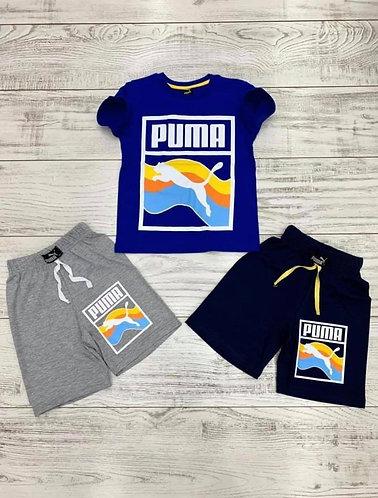 Boys Puma 2-pc Short Set