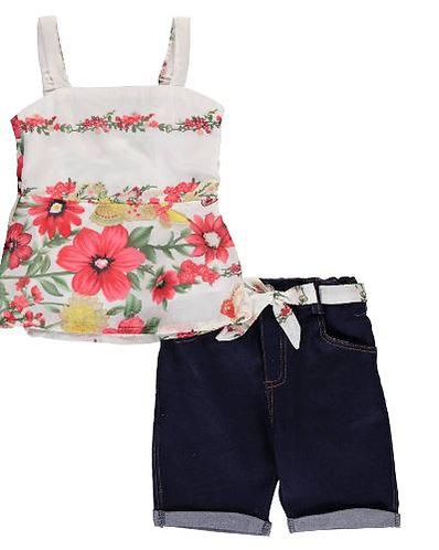 Flora  2-Piece Outfit (Size 4)