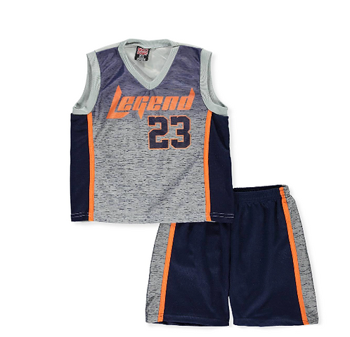 Mad Game Boys' 2-Piece Short Set Outfit