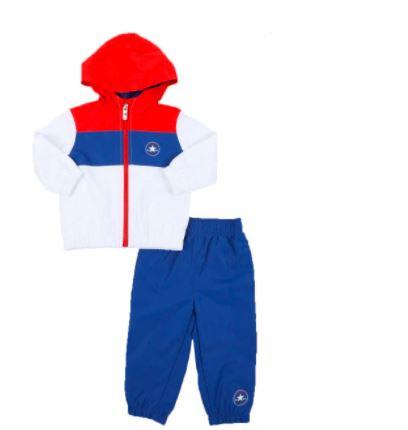 Chuck Star Color Block Full Zip Hoodie & Jogger Pants Set