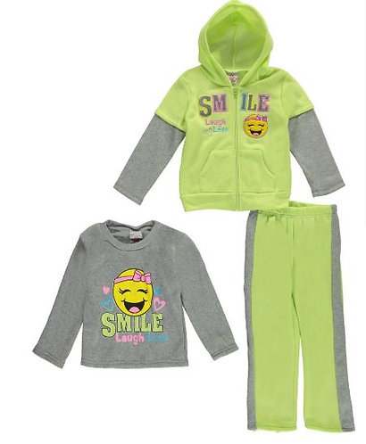 3pc Smile Sweatsuit  (Size 4)