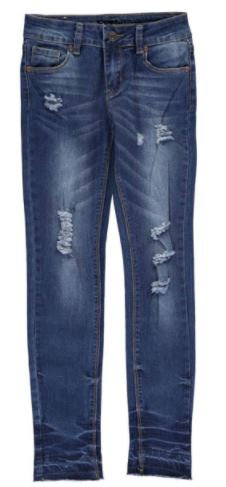 "Bamboo Girls ""VINTAGE"" STRETCH SKINNY JEANS (Size 10)"