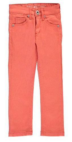 Pink Velvet Skinny Pants Size 2T