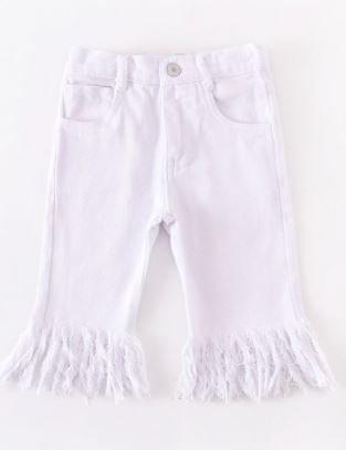 Capri Tassel Denim Jeans (Sizes 2-10)