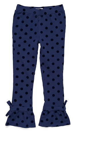 Girls Ruffle Ankle Pants