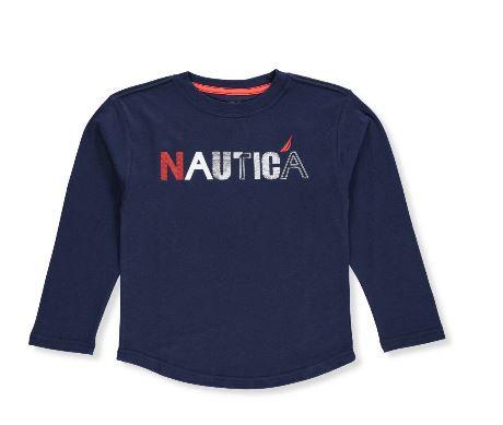 Nautica Boys' L/S T-Shirt
