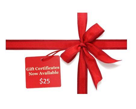 $25 MzWilliesKidz Gift Certificate