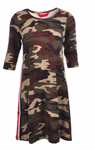 Girls 1st Kiss Camouflage Dress