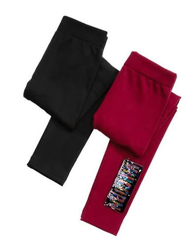 Sequin Patch Legging Set of 2