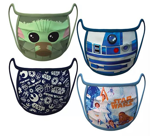 Star Wars Cloth Face Masks(4-Pack)