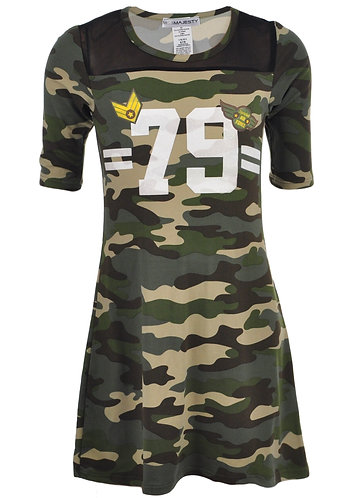Miss Majesty Camouflage Dress