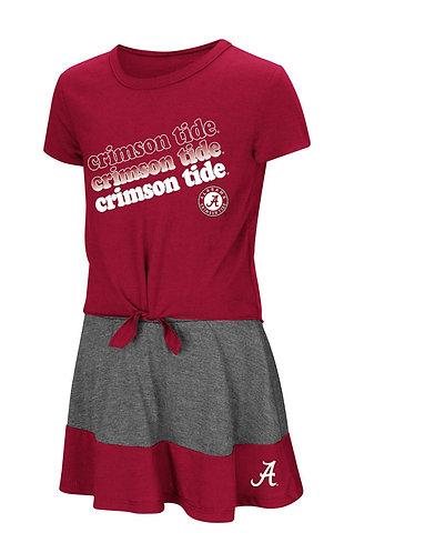 Alabama Crimson Tide Tee Skort Set- Toddler Girls