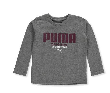 Puma Boys' L/S T-Shirt