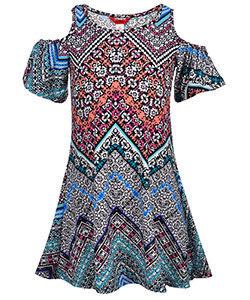 """""""CHELSEA"""" COLD SHOULDER DRESS (Size 7/8)"""