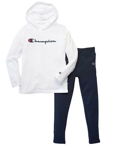Champion Script Logo Jersey Set (Sizes 2T-6X)