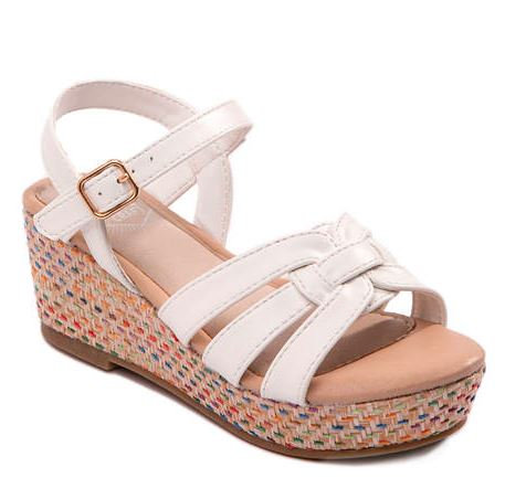 Youth Girls Athena Wedge Sandals