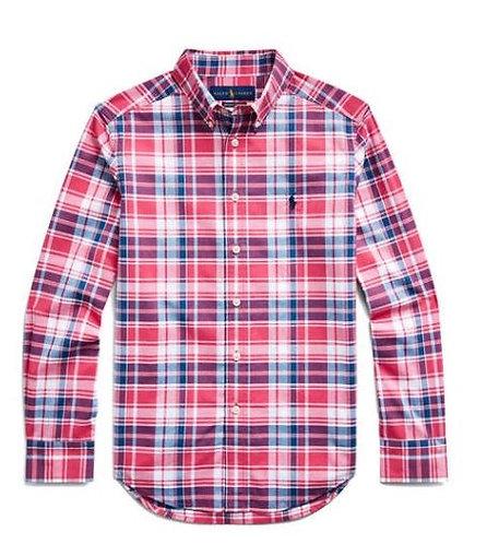 Ralph Lauren Boys Stretch Cotton Poplin Shirt