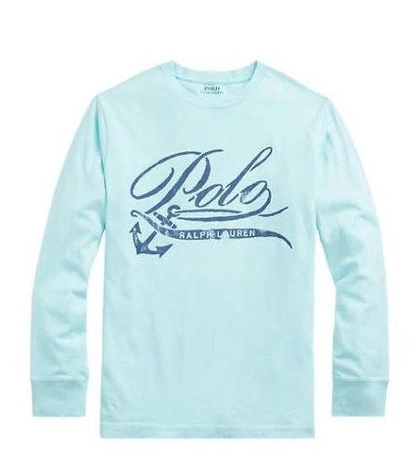 Ralph Lauren Boys Cotton Jersey Graphic Tee