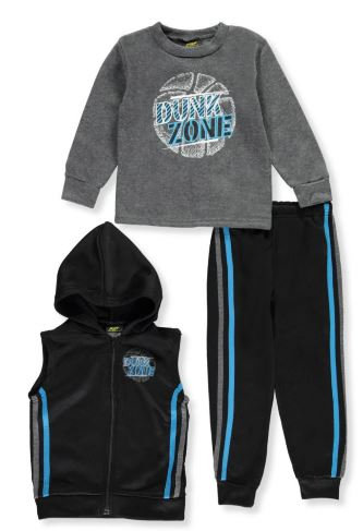 Dunk Zone Toddler 3-Piece Outfit (Sizes: 2T & 4T)