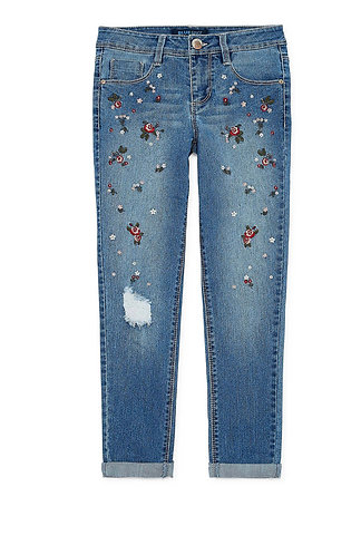 Blue Spice Girls Skinny Fit Jean
