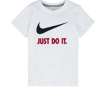 Nike Boys Crew Neck Short Sleeve Graphic T-Shirt
