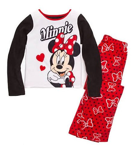 Disney® Girls 2 Piece Fleece Pajama Set