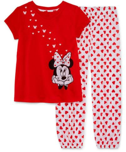 Disney Minnie Mouse 2-pc Pajamas