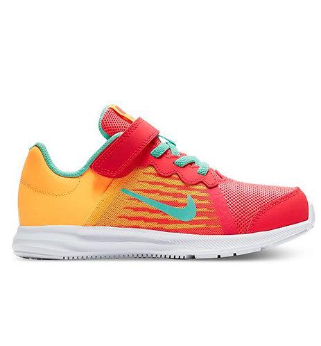 Nike Little Girls' Downshifter 8 Fade Running Sneakers