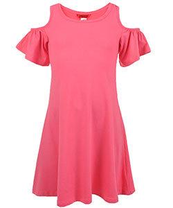 Cold Shoulder Dress (Size 7/8)