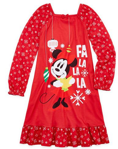 Disney Long Sleeve Minnie Mouse Nightshirt