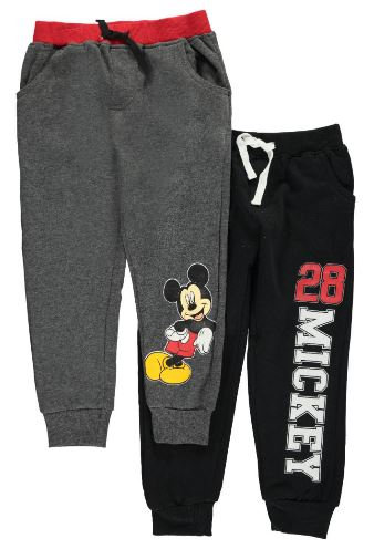 Mickey Mouse 2-Pack Joggers (Size 2T)