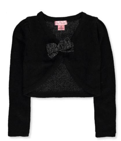 Little Girls' L/S Knit Shrug (Sizes 4, 5/6 & 16)
