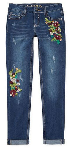 Vgold Girls Skinny Fit Jean Big Kid - Plus Size
