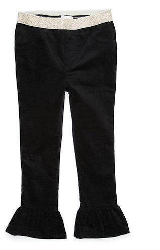 Girls Pull-On Velvet Pants