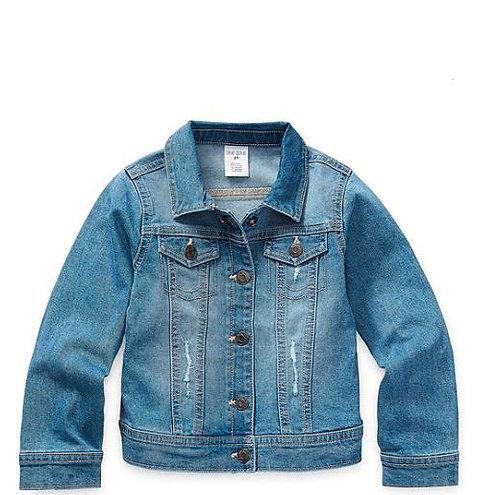 Okie Dokie Toddler Girls Denim Jacket