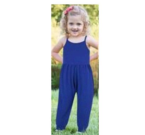 Girls Sleeveless  Jumpsuit