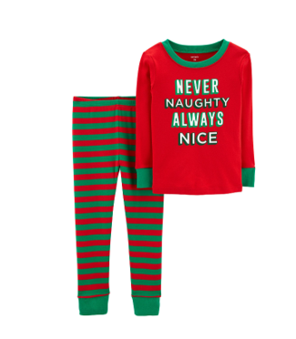 Boys Christmas Pajama Set