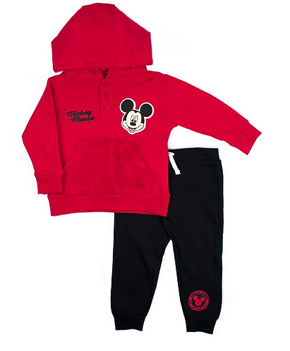 Disney Mickey Mouse Fleece Pant Set-Toddler Boys