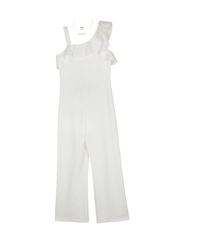 One Shoulder Dressy Jumpsuit