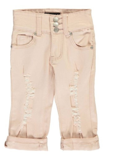 "Thrill ""BUTTONED UP"" CAPRI JEANS"