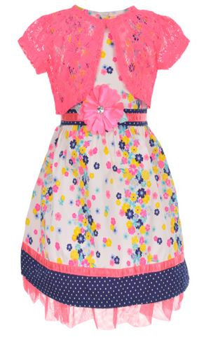 Dress with Shrug (Size 12)