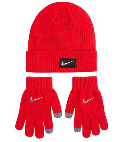 Nike F18 Cold Weather Beanie w/Gloves