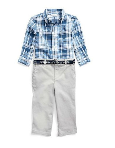 Ralph Lauren Polo Baby Boys Pant Set