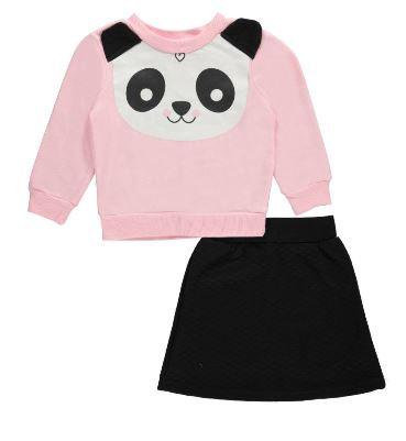 2pc Skirt Set (Size 4)
