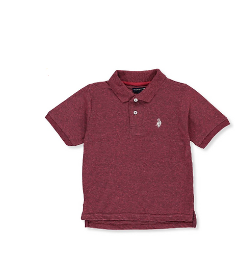 U.S. Polo Assn. Boys' Knit Polo