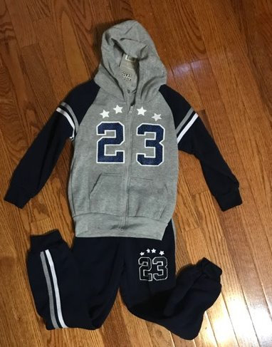 Victory League 2-piece Sweatsuit Pants Set