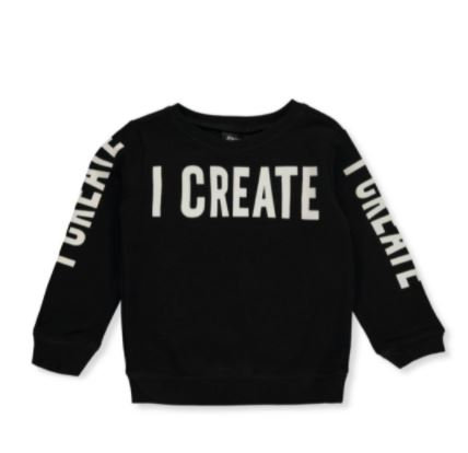 Boys' Create Pullover Sweater